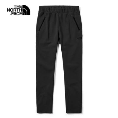 The North Face北面女款黑色吸濕排汗運動休閒褲|3YVOJK3