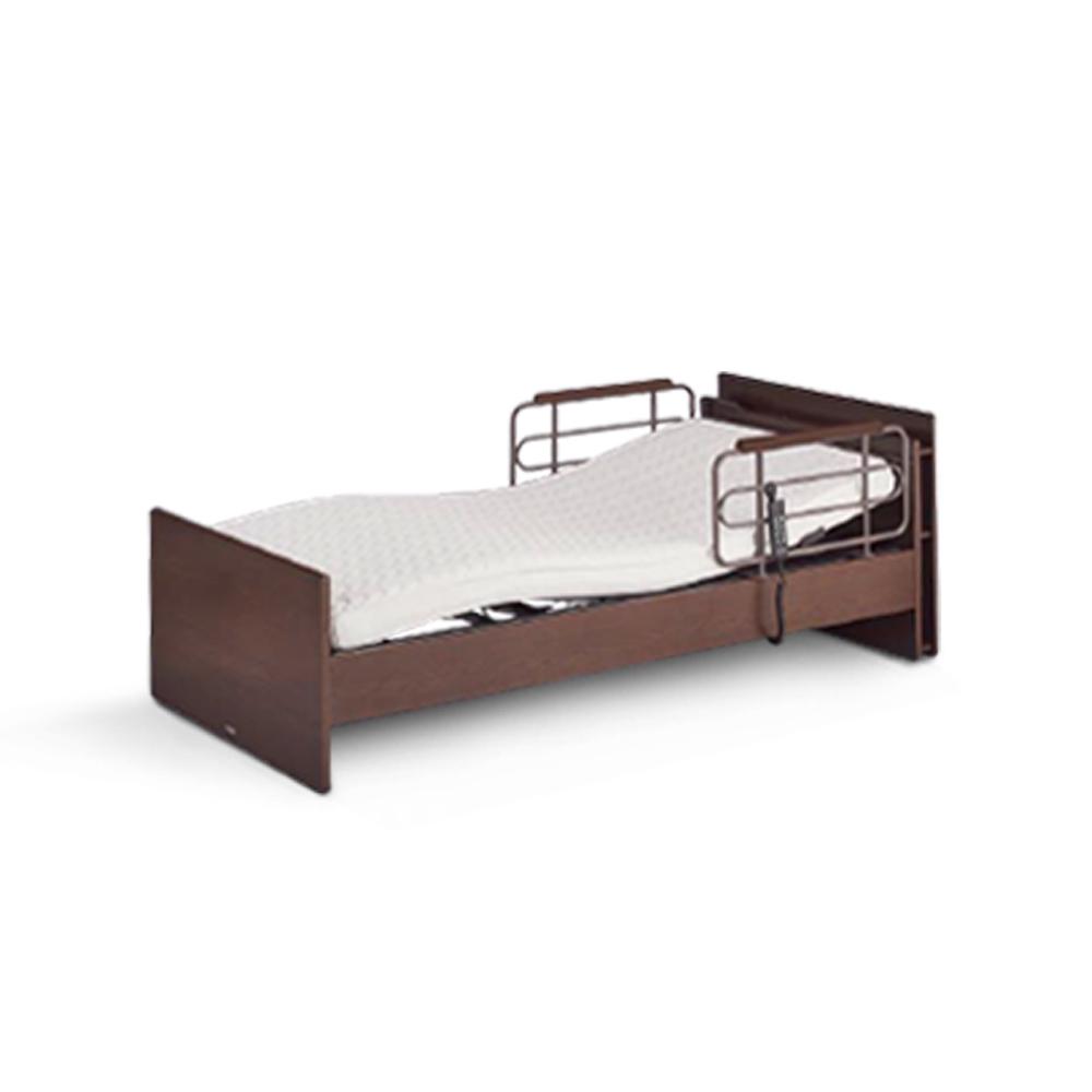 KOIZUMI-CARE-UP單馬達居家電動床-胡桃木色