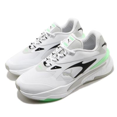 Puma 休閒鞋 RS Fast Tech 運動 男女鞋 經典款 舒適 避震 球鞋 情侶穿搭 白 綠 38019103