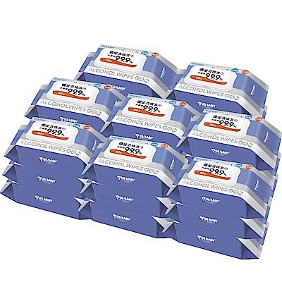 優生 超厚型抗菌酒精濕巾80抽24包