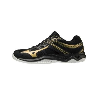 MIZUNO THUNDER BLADE 男排球鞋 黑-V1GA197052