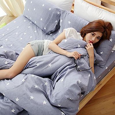 BUHO 雙人加大三件式床包枕套組(星色悠氧)