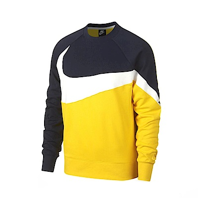 Nike 大學T NSW Hbr Crw Ft Stmt 男款