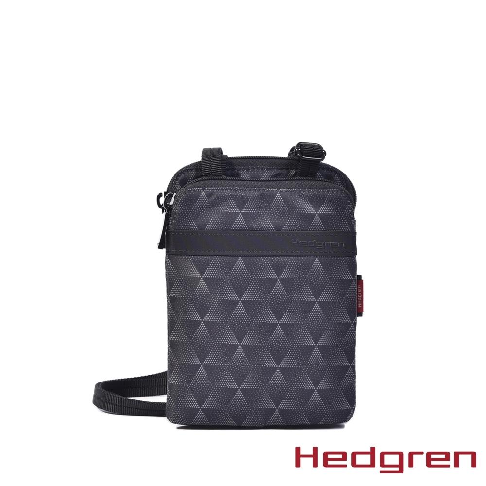 【Hedgren】方塊黑安全出遊小側背包 - HFOL07 RUPEE