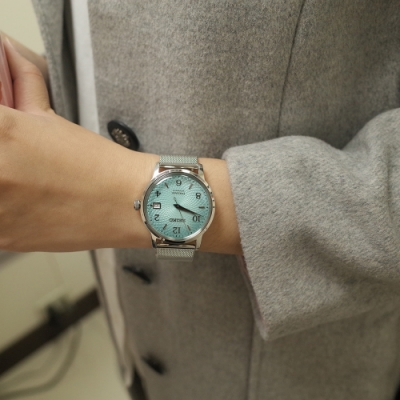 SEIKO Presage Cocktail 粉色嬉遊 限量機械錶(SRPE49J1)4R35-04B0B