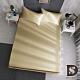 岱思夢 台灣製 單人3.5尺 素色床包枕套組 日系無印風 柔絲棉 香檳金 product thumbnail 1