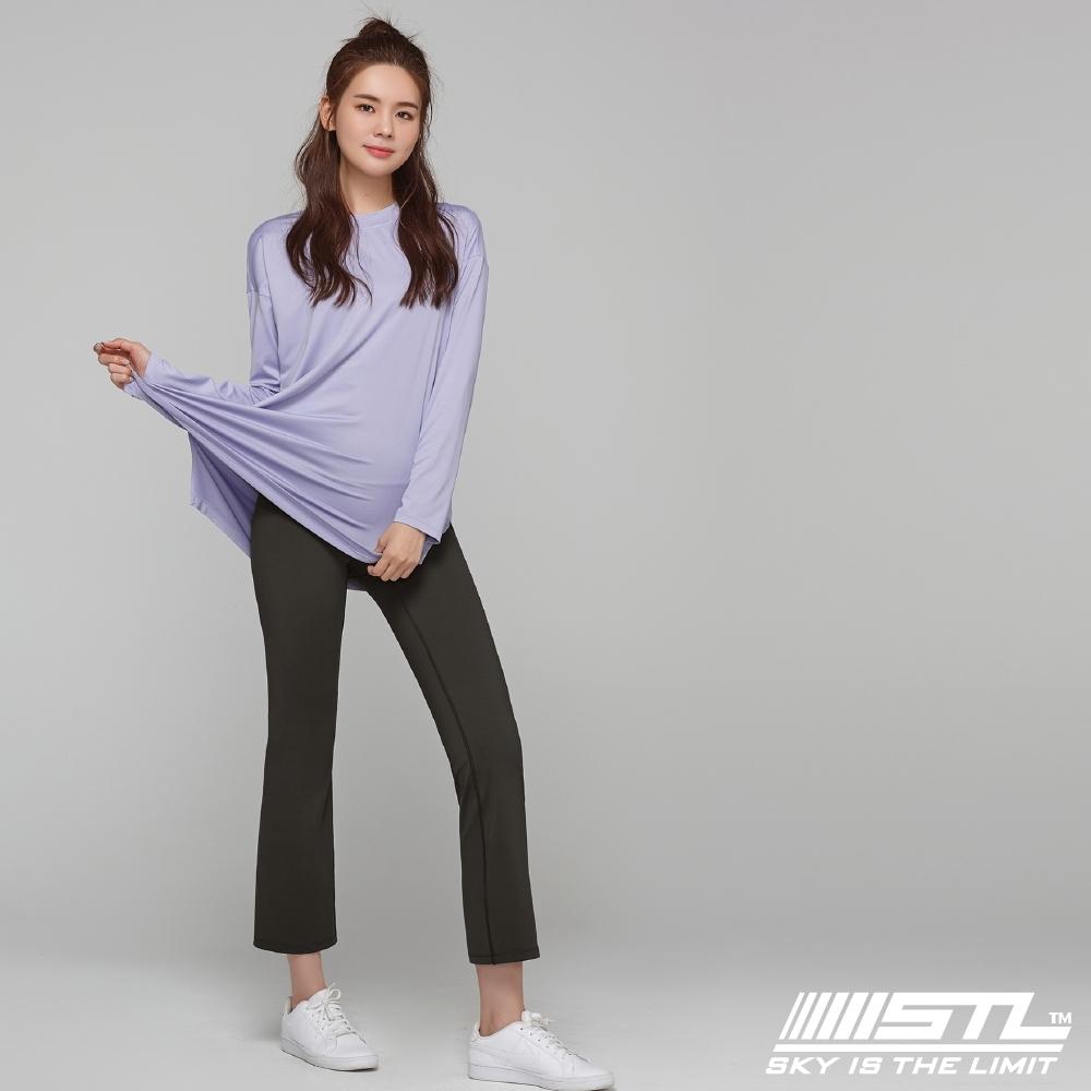 STL YOGA METRO NY 9 韓國瑜珈 地鐵合身小喇叭 運動機能訓練長褲 巧克力