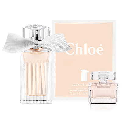 Chloe Mini Chloe 小小白玫瑰淡香水20ml(贈CHLOE白玫瑰小香5ML)