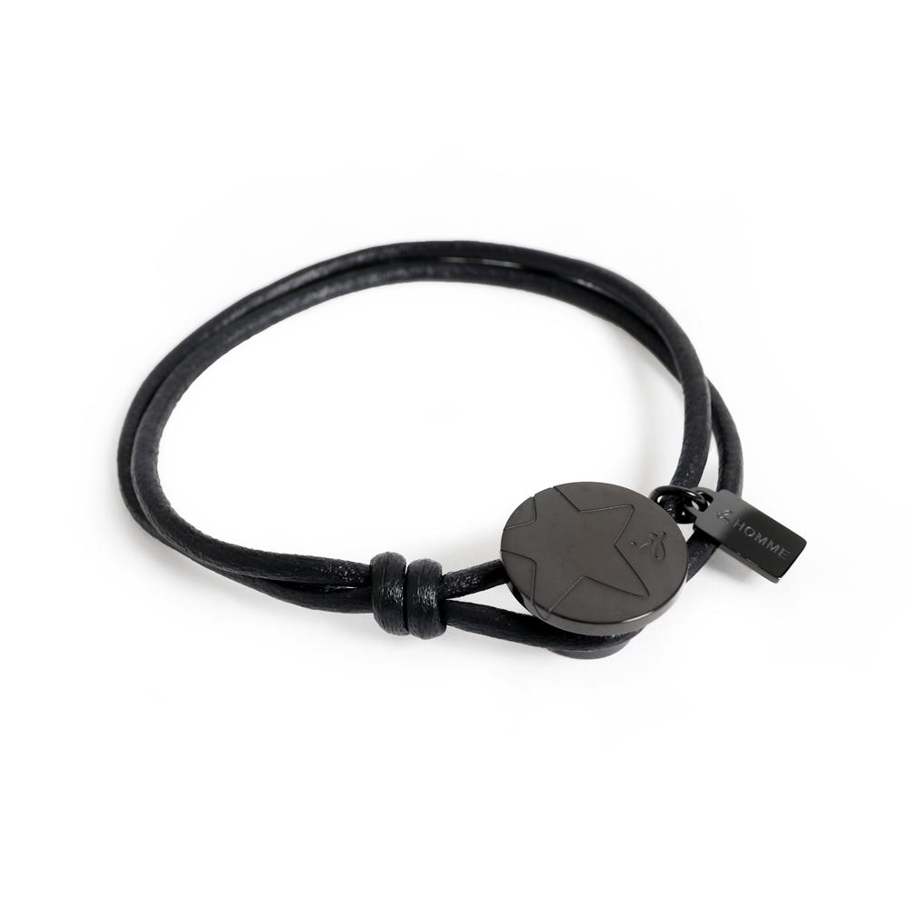 agnes b. 男性皮繩手環