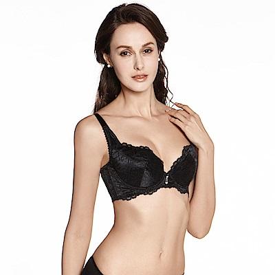 LADY 維納斯系列 B-E罩內衣(光澤黑)