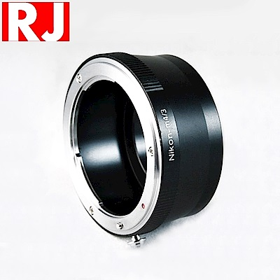 RJ製造 鏡頭轉接環 Nikon F-M4/3