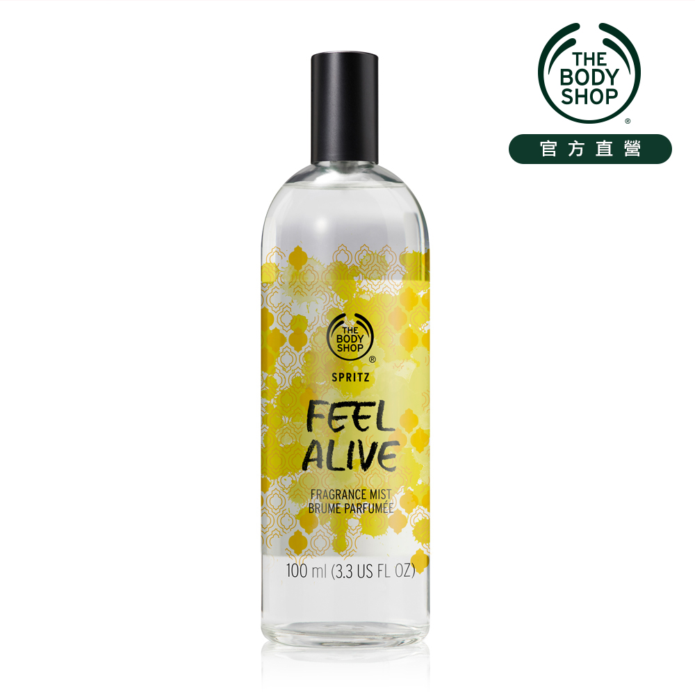 The Body Shop Feel Alive 百合蒼蘭 爽身花露水-100ML