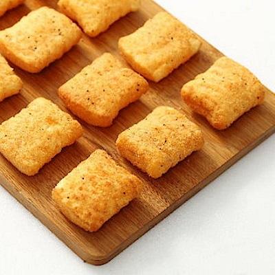 艋舺雞排 胖胖酥2包+新竹福源花生醬 胖胖酥2包