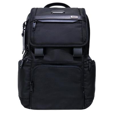 TUMI ALPHA 3 FLAP系列15吋筆電翻蓋後背包(黑)