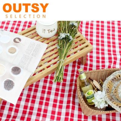 【OUTSY嚴選】戶外兩用防水桌巾/野餐墊 特大款