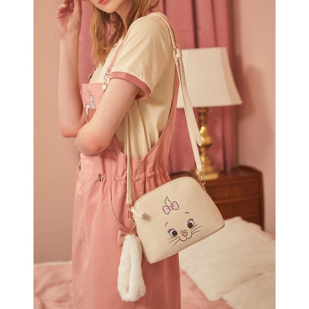 CACO-瑪麗貓皮革貝殼包(二色)-女【B2DI085】
