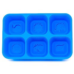 MARCUS&MARCUS 動物樂園矽膠副食品分裝保存盒(6色可選)