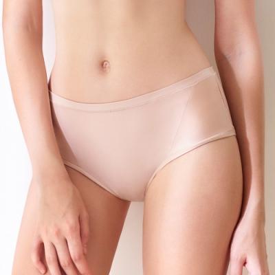 黛安芬-超彈舒柔系列平口內褲 M-EL 摩卡膚