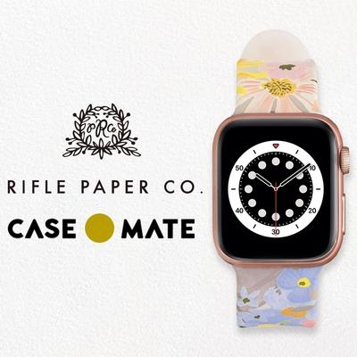 美國 Rifle Paper Co. x CM 限量聯名款 Apple Watch 38-40mm 錶帶 - 瑪格麗特