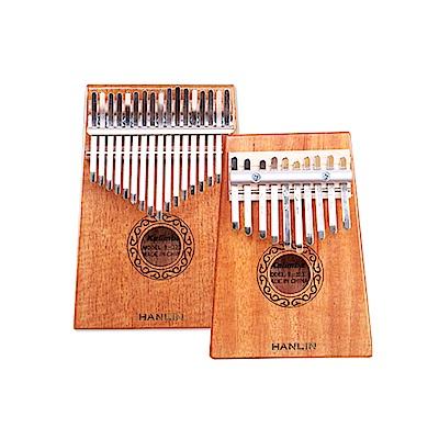 HANLIN-W10T-桃花心木10音卡林巴拇指琴