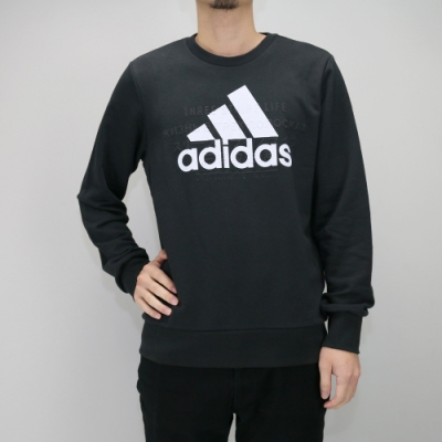 ADIDAS ID BOS GR SWEAT 男大學長袖T 黑