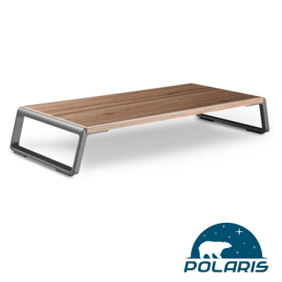 Polaris Mars-01w 多功能 螢幕桌架 (原木色)