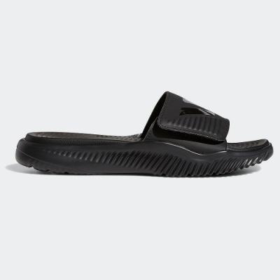 ADIDAS 拖鞋 休閒 運動 游泳 男鞋 黑 B41720 ALPHABOUNCE BASKETBALL SLIDES