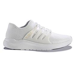 V-TEX 時尚針織耐水鞋/防水鞋 地表最強耐水透濕鞋-珍珠白(男)贈時尚後背包