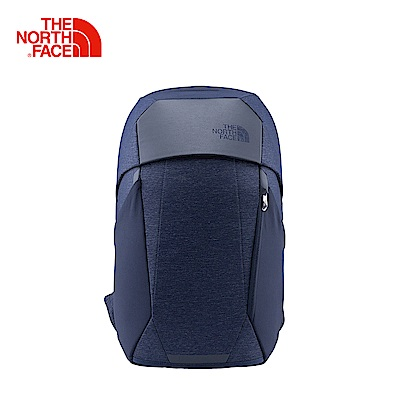 The North Face北面男女款藍色舒適防護休閒後背包 3KUR7HJ