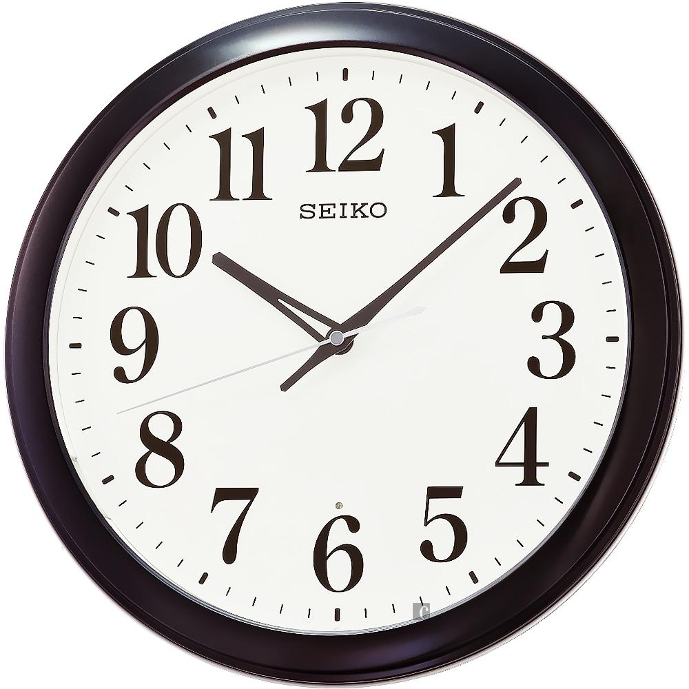 SEIKO 精工 滑動式秒針靜音掛鐘 QXA776K