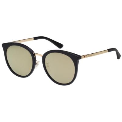 Moschino 水銀面 小熊 太陽眼鏡(黑色)