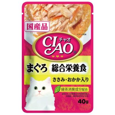 CIAO 巧餐包系列-鮪魚綜合營養食(40g/包x16包)