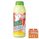 白鴿 殺菌漂白素-1000gX12瓶