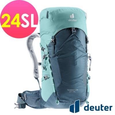 【deuter 德國】SPEED LITE AIR 24SL超輕量旅遊背包3410521藍/湖藍/戶外休閒包/健行包/登山包*