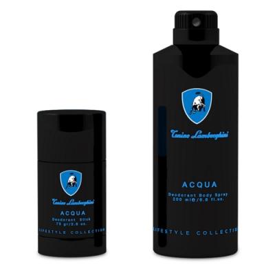 Lamborghini Acqua 水能量男性體香噴霧 200ml+體香膏75g
