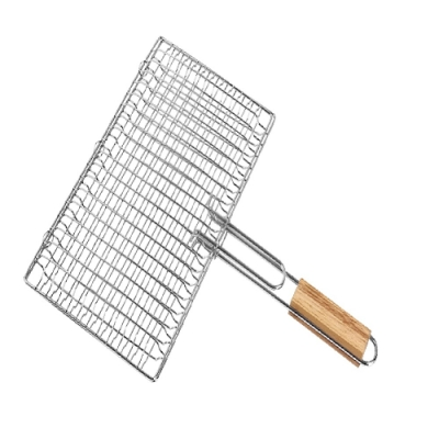 【點秋香】木柄雙合烤網