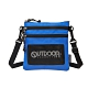 【OUTDOOR】旅遊配件-直式隨身包-藍色 ODS18L03BL product thumbnail 1