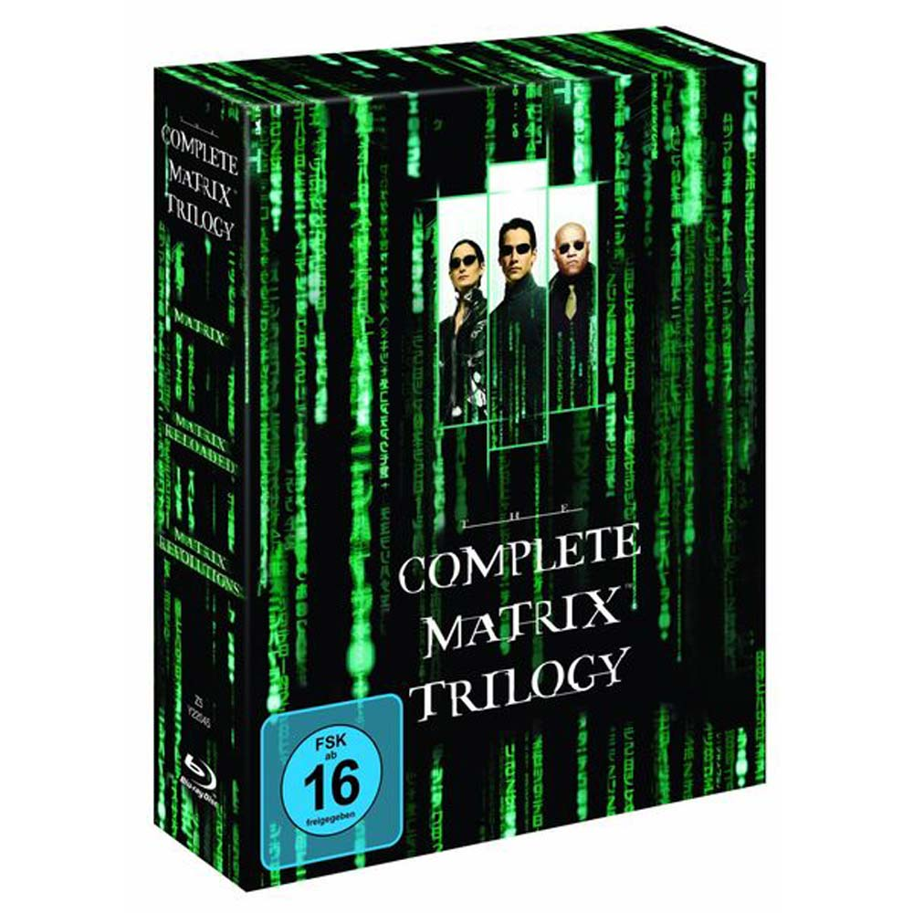 駭客任務 合集 The Complete Matrix Trilogy  藍光 BD
