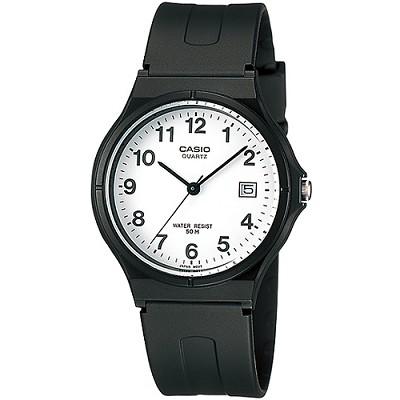 CASIO 簡單生活風時間腕錶-白X數字刻(MW-59-7B)/28mm