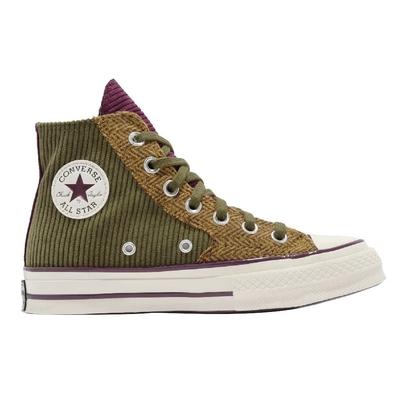 CONVERSE CHUCK 70 HI 高筒 休閒鞋 男鞋 女鞋 拼接 軍綠色-172494C