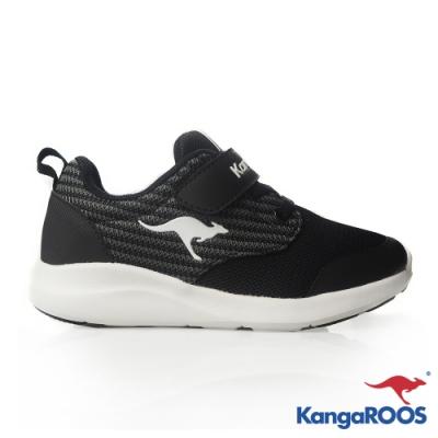 KANGAROOS 童 LITE 137 輕量運動鞋(黑)