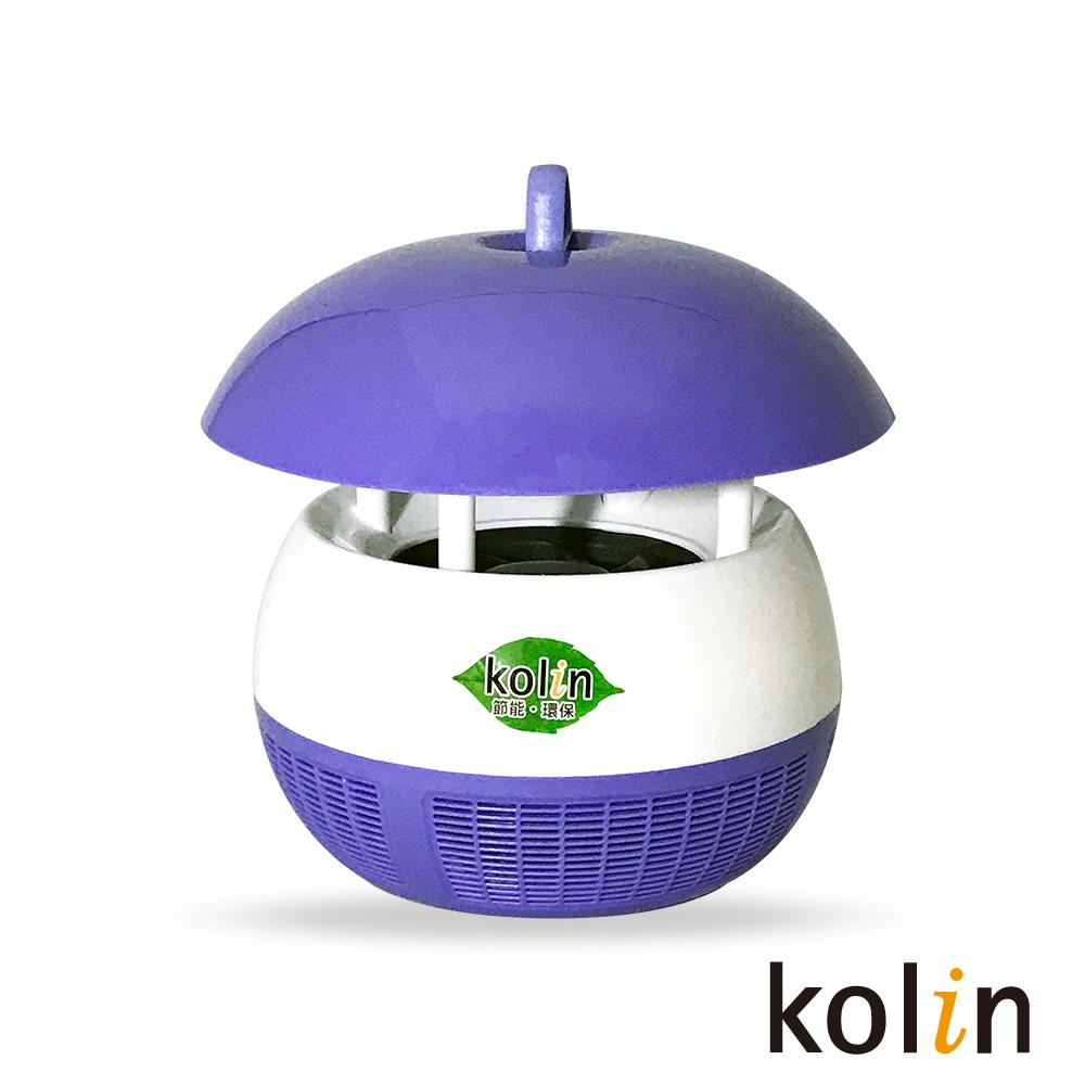kolin歌林 USB靜音吸入式捕蚊燈 @ Y!購物