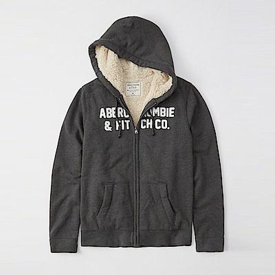 AF a&f Abercrombie & Fitch 女 帽T 灰色 1130