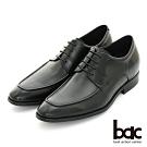 【bac】隱藏增高 內增高綁帶紳士鞋-黑