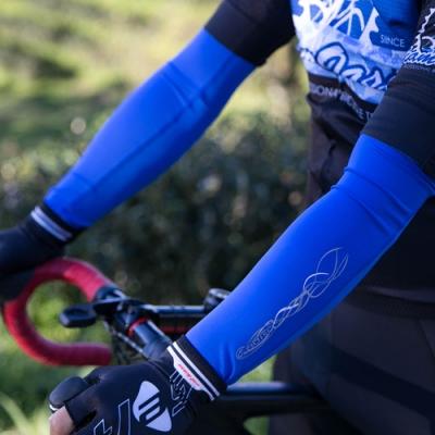 ADISI 抗UV自行車袖套AS16116 藍色