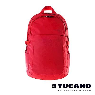 TUCANO BRAVO 15.6吋智能USB外接充電後背包-紅
