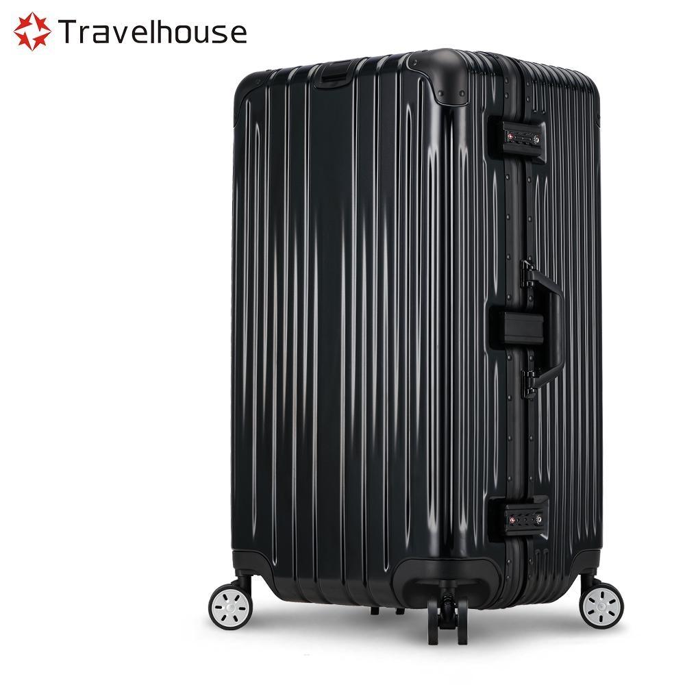 Travelhouse 尊爵典藏II 29吋運動款鋁框行李箱(黑色)