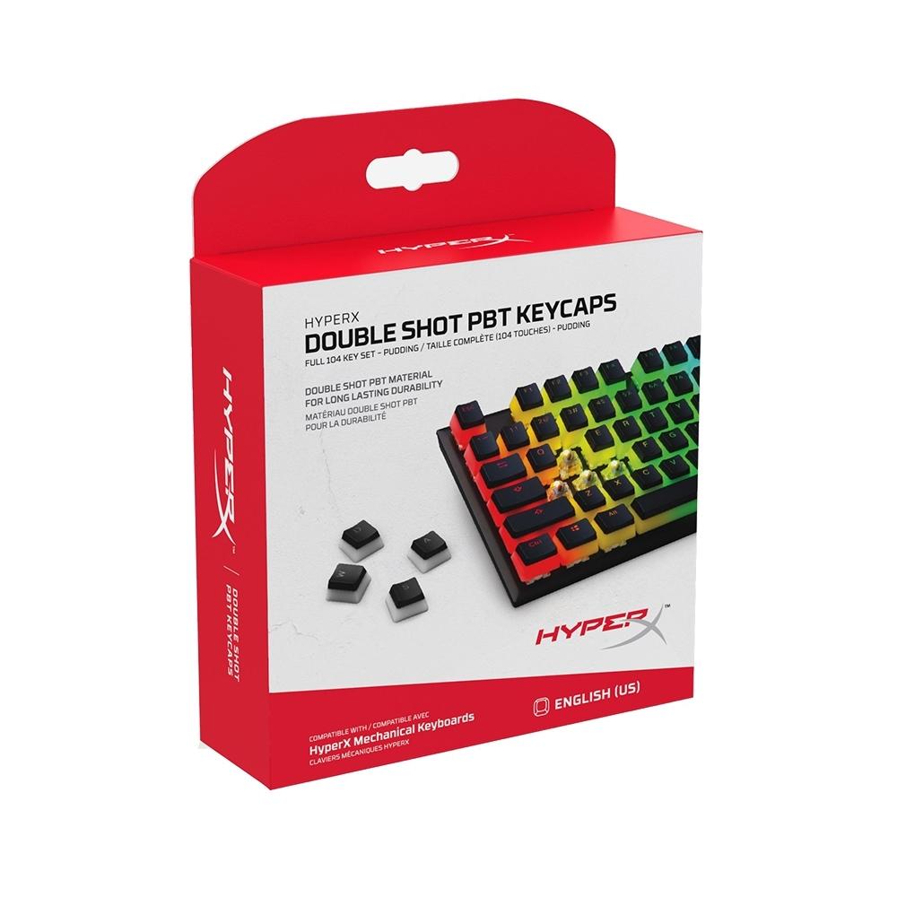 HyperX Double Shot PBT Keycaps 雙色鍵帽 HXS-KBKC3