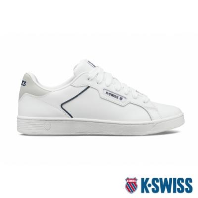 K-SWISS Clean Court II CMF時尚運動鞋-男-白/藍