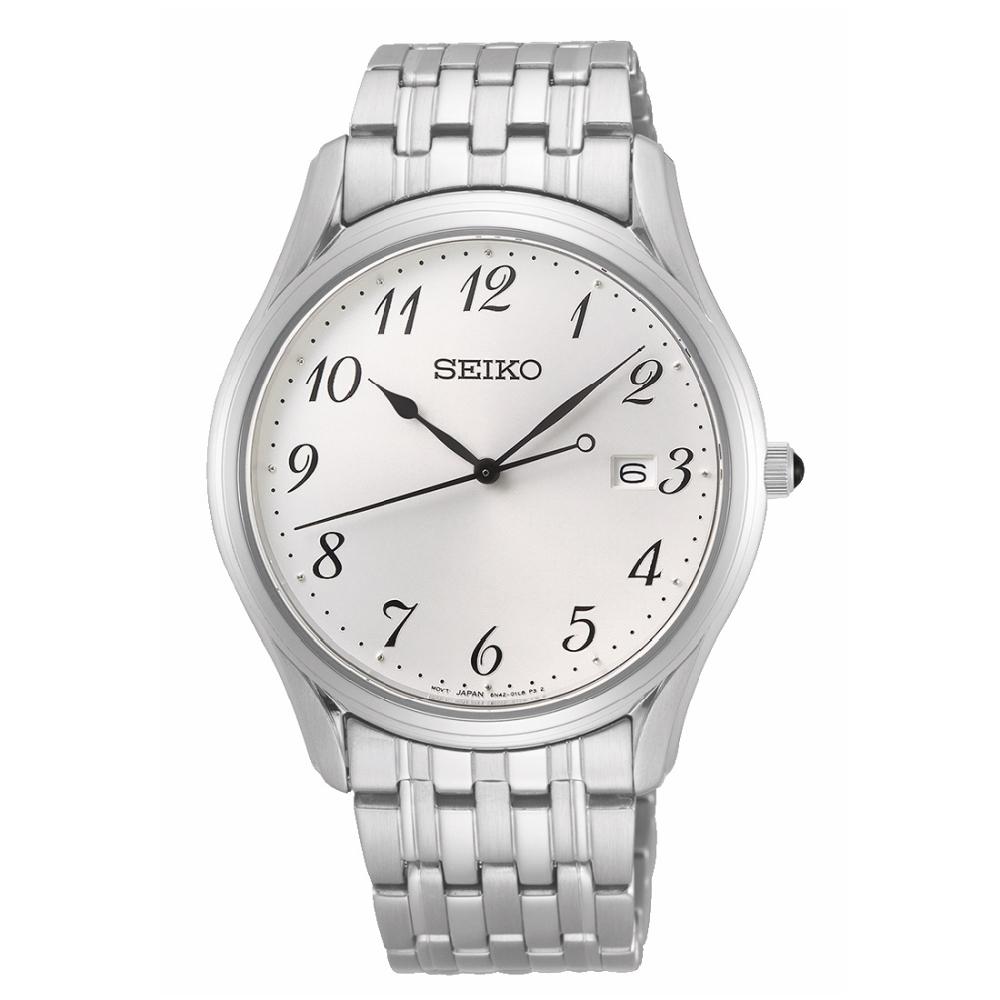 SEIKO 簡約風格經典腕錶6N42-00K0S(SUR299P1)